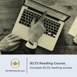 IELTS Reading course