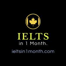 Learn IELTS in one month